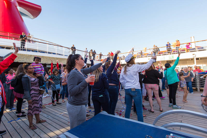 Sailaway on Carnival Ecstasy