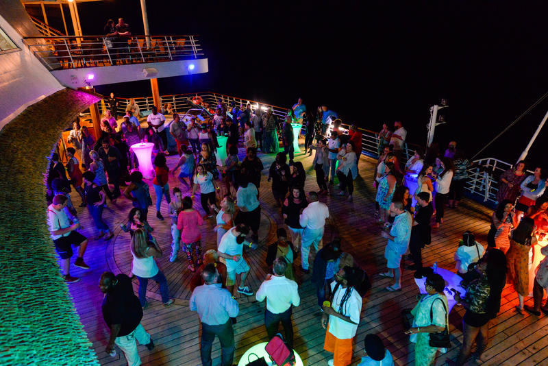 Serenity Nights on Carnival Ecstasy