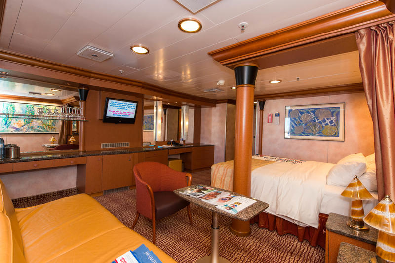 Grand Suite On Carnival Ecstasy Cruise Ship