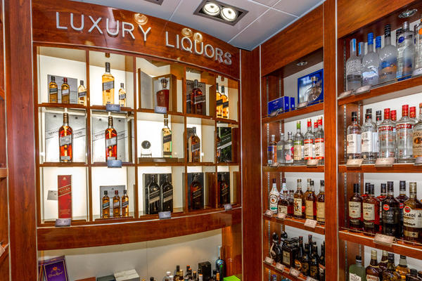 Luxury Liquors on Zuiderdam (Photo: Cruise Critic)