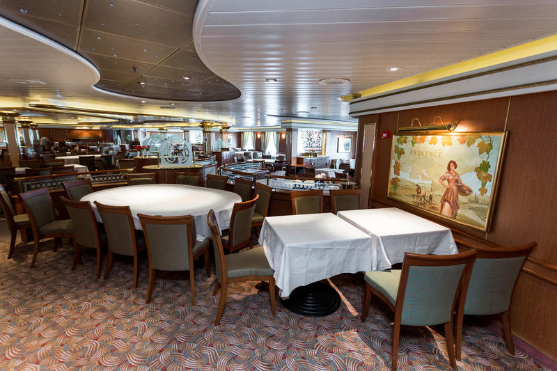 provence dining room | Provence Dining Room on Island Princess Cruise Ship ...