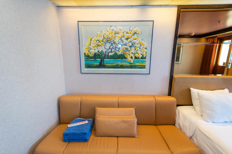 Junior Suite On Carnival Paradise Cruise Ship