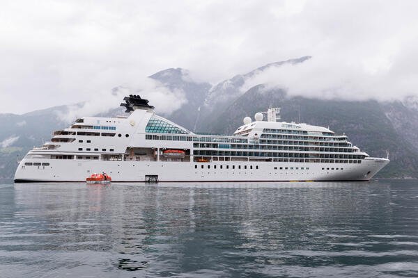 Ship Exterior on Seabourn Quest