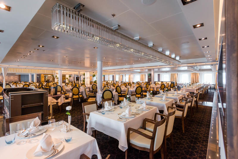 The Restaurant on Seabourn Quest