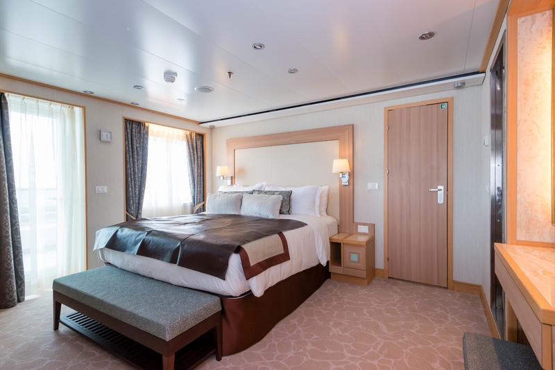 The Signature Suite on Seabourn Quest
