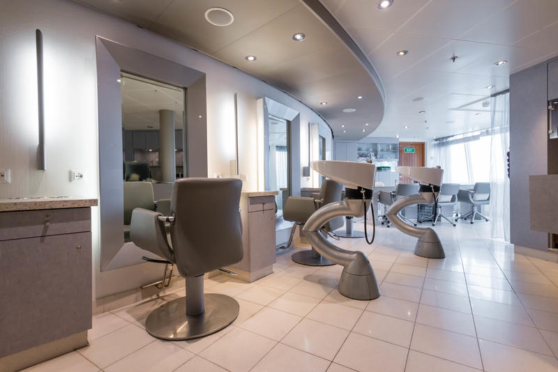 Salon on Seabourn Quest