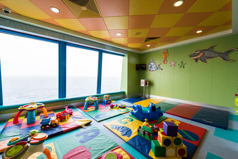 Babies and Toddlers Club on Norwegian Pearl
