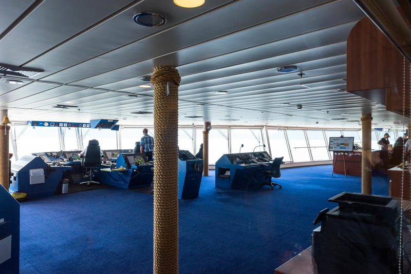 Bridge Viewing Room on Norwegian Pearl