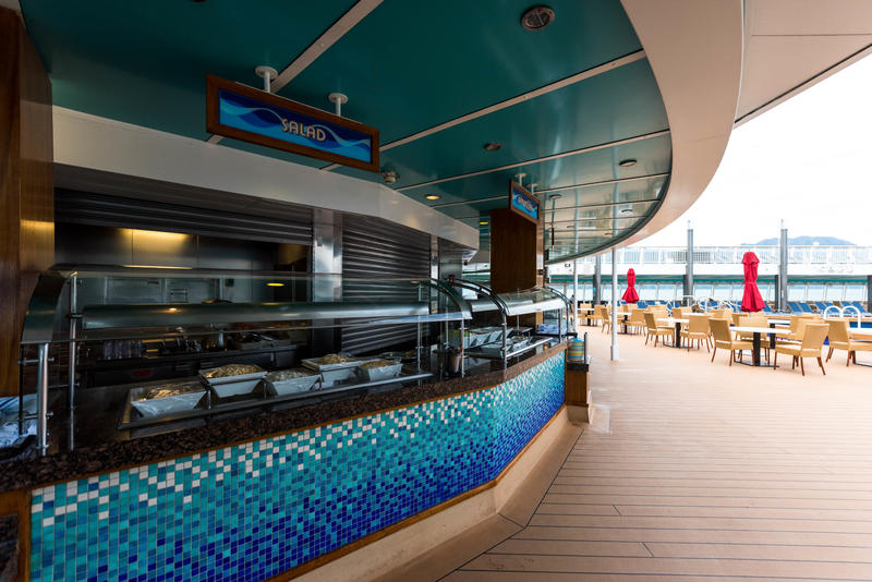 Topsiders Bar & Grill on Norwegian Pearl