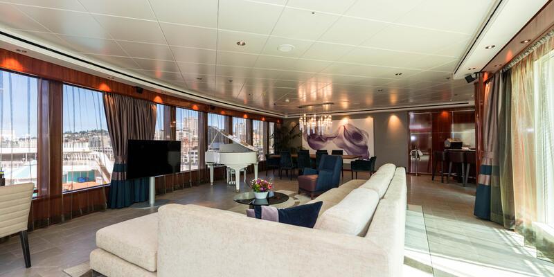 The Haven 3-Bedroom Garden Villa on Norwegian Pearl