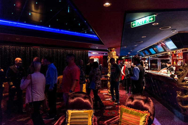 Captain's VIP Cocktail Party in Bliss Ultra Lounge on Norwegian Pearl