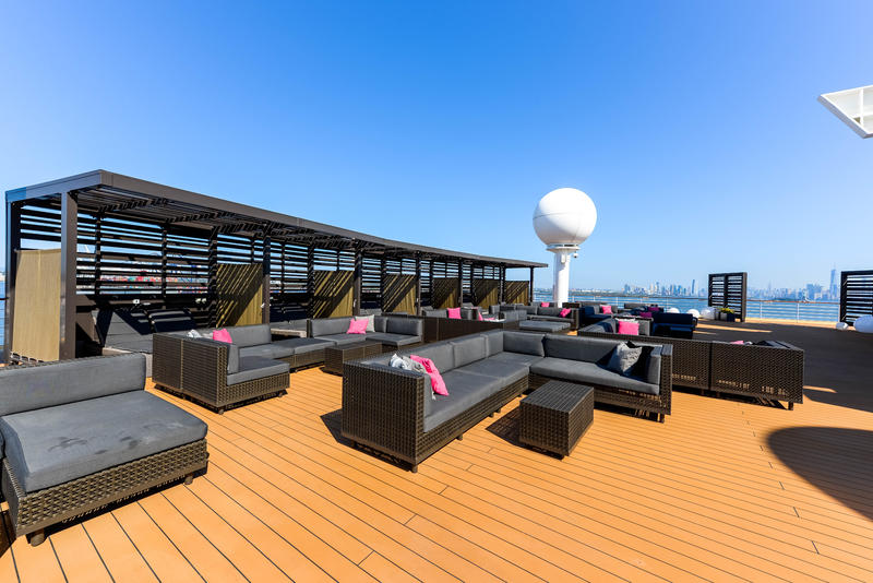 The Rooftop Terrace on Celebrity Summit