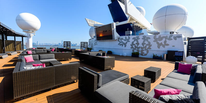 The Rooftop Terrace on Celebrity Summit (Photo: Cruise Critic)