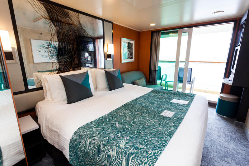 The Balcony Cabin on Norwegian Jade