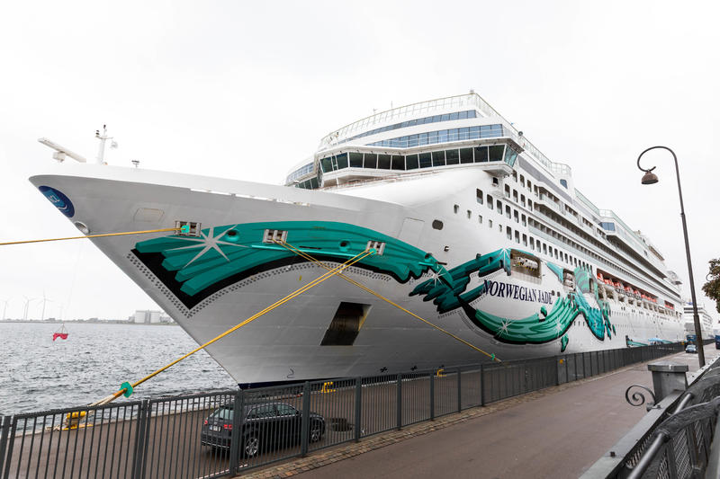 Ship Exterior on Norwegian Jade