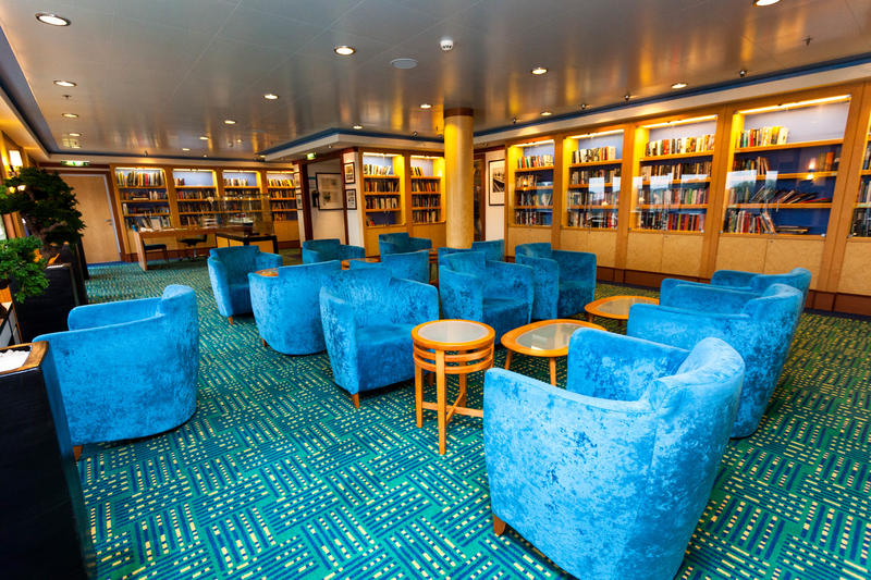 Library on Norwegian Jade