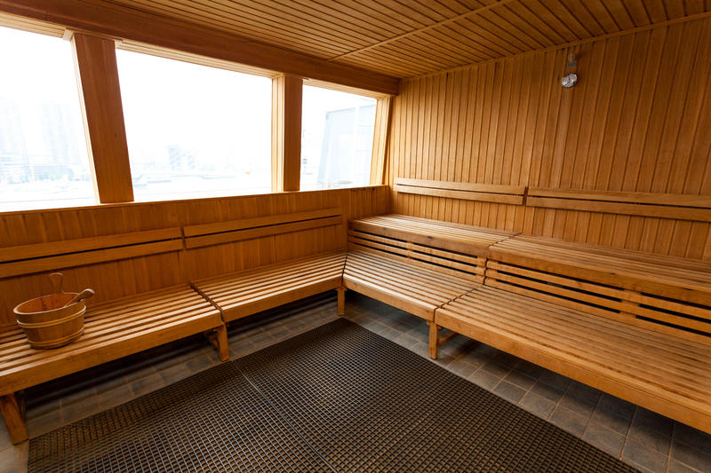 Sauna on Norwegian Jade