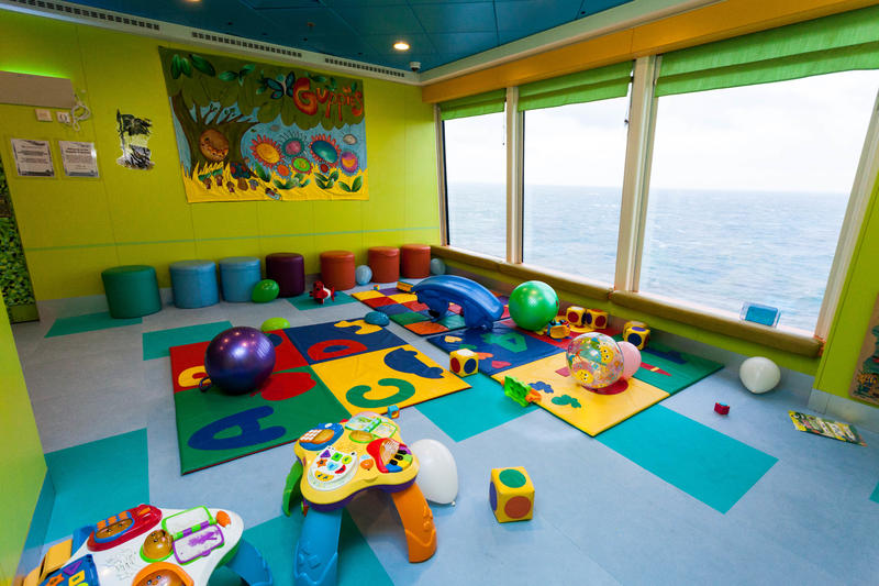 Guppies Playroom on Norwegian Jade