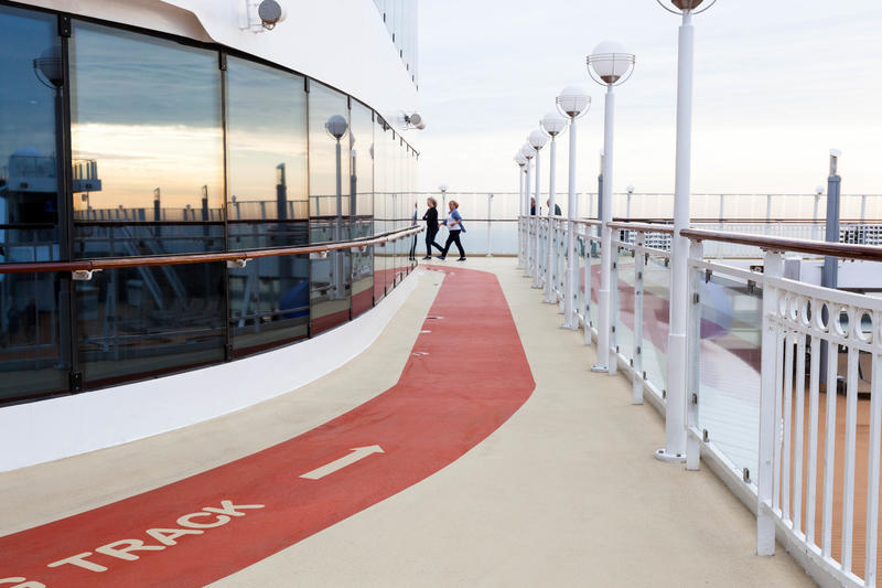 Jogging Track on Norwegian Jade
