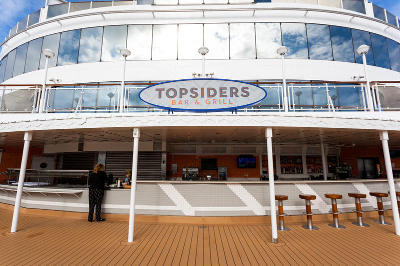 Topsiders Bar & Grill on Norwegian Jade