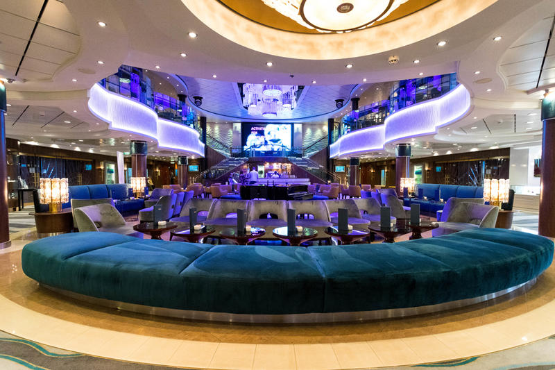 Atrium on Norwegian Jade