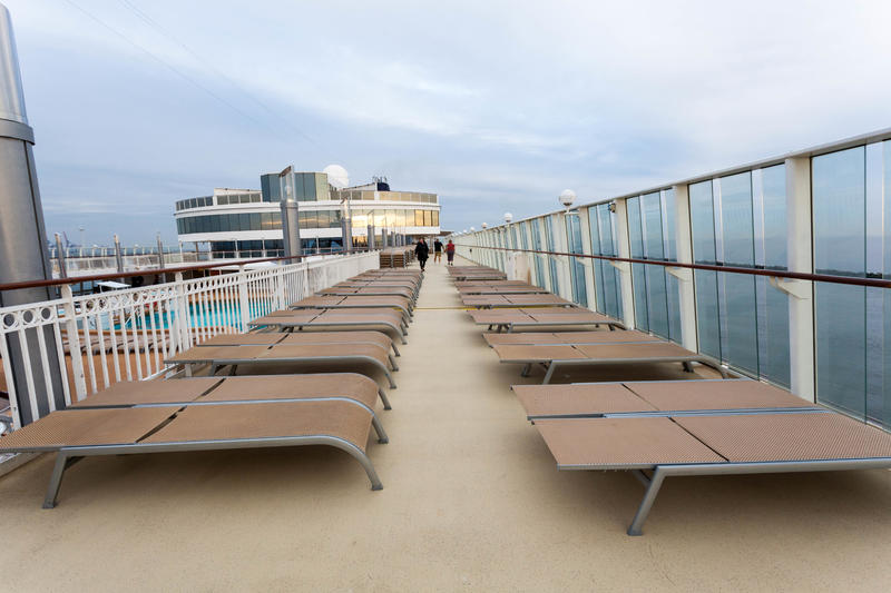 The Sun Decks on Norwegian Jade