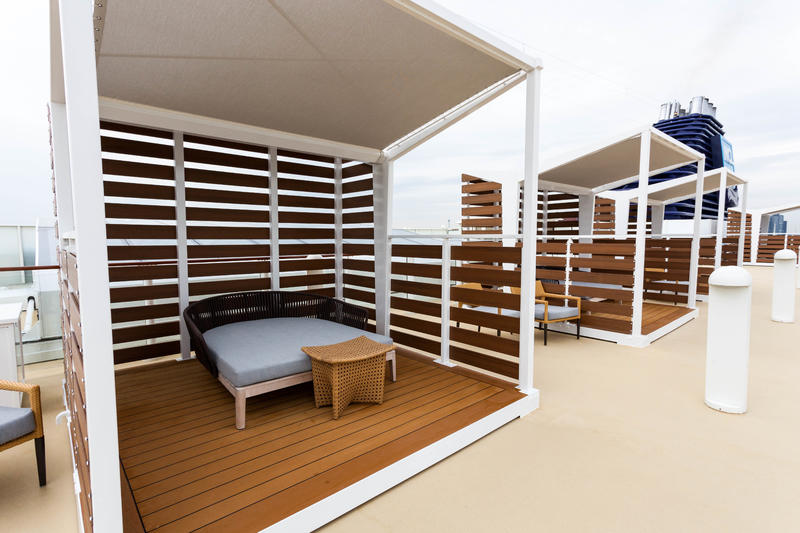 The Haven Sun Deck on Norwegian Jade