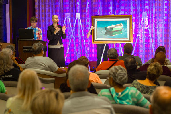 Art Auction on Navigator of the Seas (Photo: Cruise Critic)