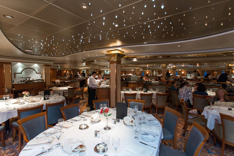 provence dining room | Provence Dining Room on Coral Princess Cruise Ship ...