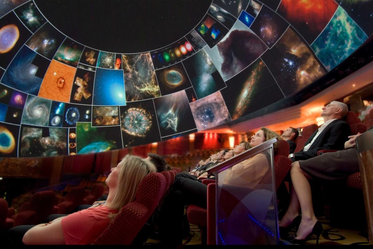 Planetarium On Cunard S Queen Mary 2 Cruise Ship Cruise
