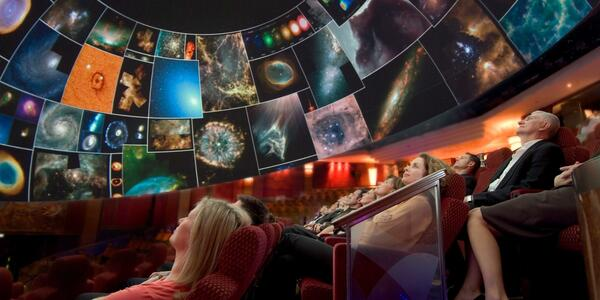 Planetarium Show on Queen Mary 2 (Photo: Cunard)