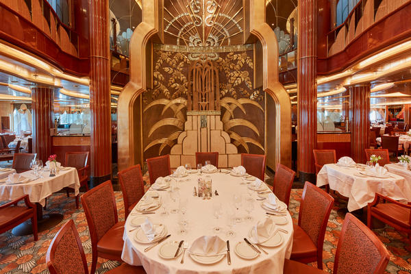 Cunard's Britannia Restaurant (Photo: Cunard)