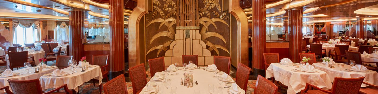 Cunard's Britannia Restaurant (Photo: Cunard)