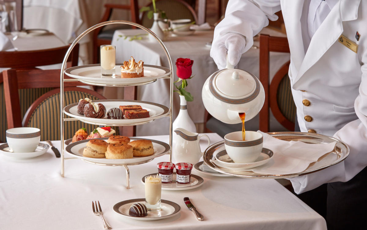 Afternoon Tea On Cunard Cruises Cruise Critic
