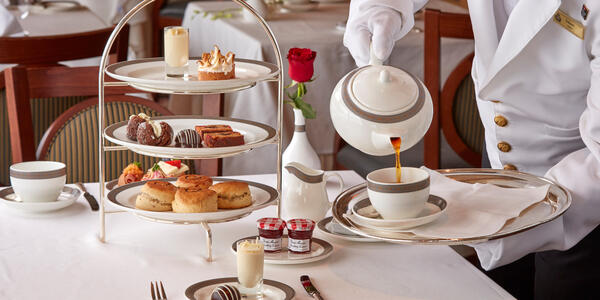 Afternoon Tea on Cunard Cruises (Photo: Cunard)