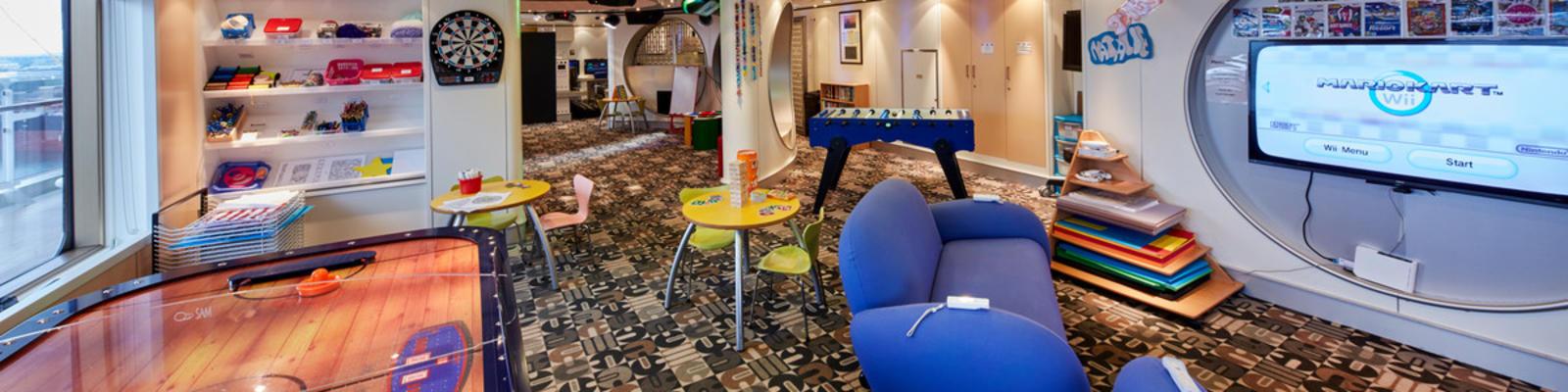 Cunard Kids Clubs on Cunard Cruises (Photo: Cunard)