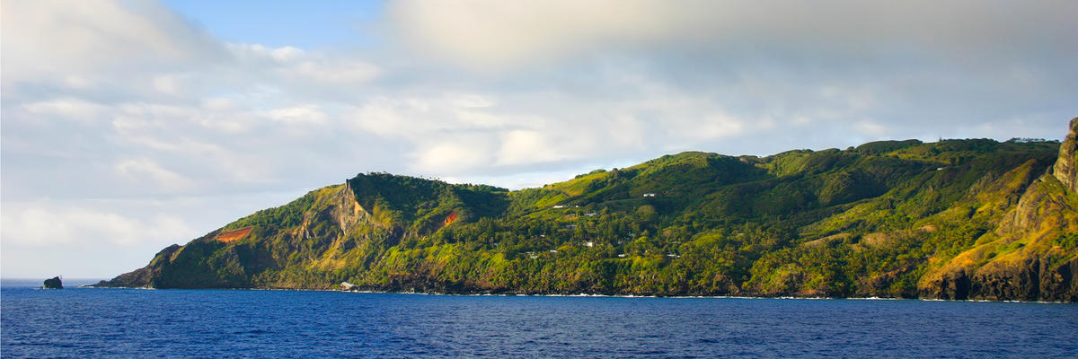 Adamstown, Pitcairn Island (Photo: Claude Huot/Shutterstock)
