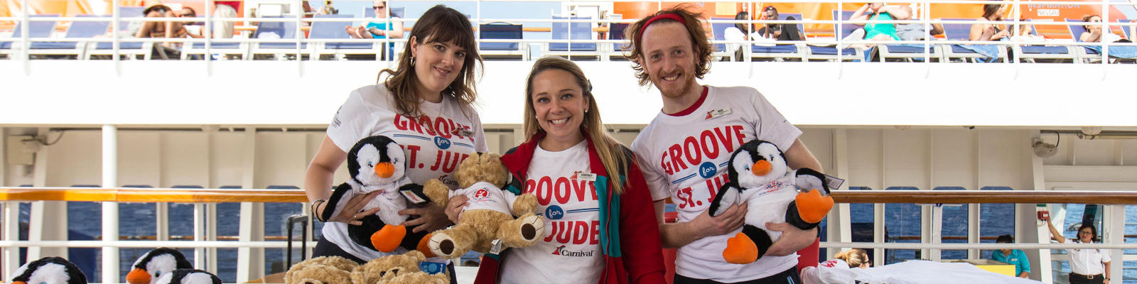 Groove for St. Jude on Carnival Inspiration (Photo: Cruise Critic)