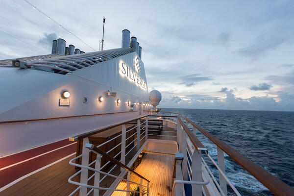 Ship Exterior on Silver Muse