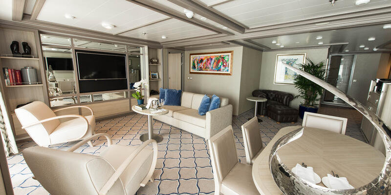 The Owner's Suite on Silver Muse