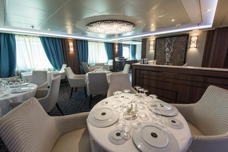 Compass Rose on Seven Seas Navigator