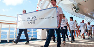 Holland America's On Deck for a Cause (Photo: Holland America)