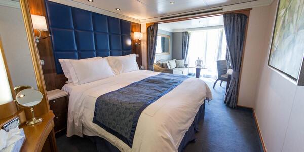 The Deluxe Suite on Seven Seas Navigator
