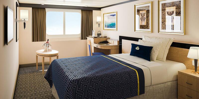 Cunard Single Stateroom (Photo: Cunard)