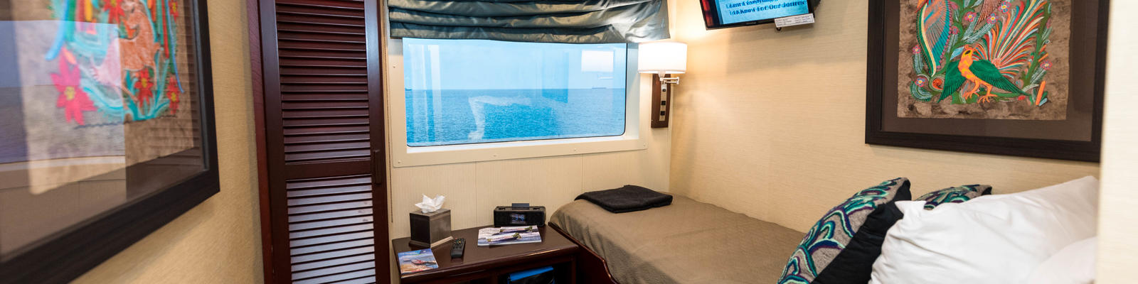 Safari Voyager Single Cabin (Photo: Cruise Critic)