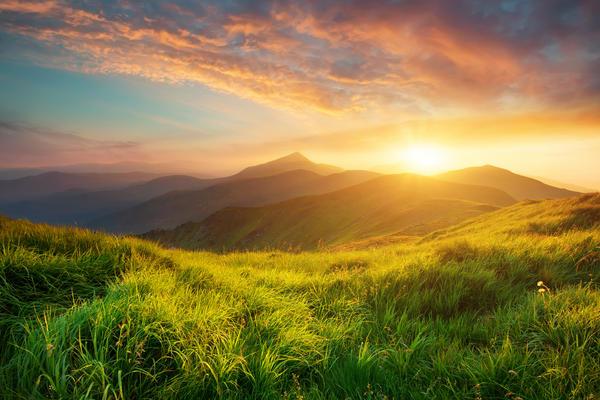 Scenic Sunset Valley Overlook (Photo: biletskiy/Shutterstock)