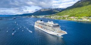 Viking Sky in Tromso (Photo: Viking Ocean Cruises)