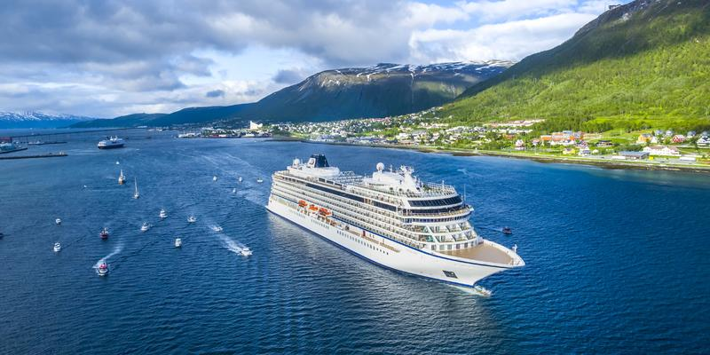 Viking Sky in Tromso (Photo: Viking Ocean Cruises)