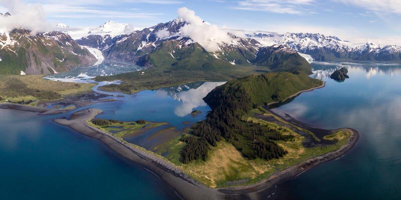 Alaska Aerial Shot (Photo: Holland America Line)
