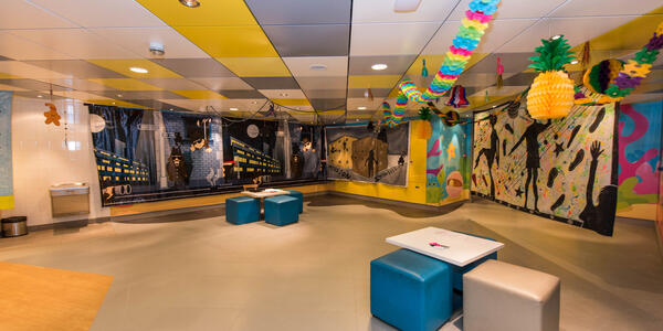 Norwegian Breakaway's Splash Academy (Photo: Cruise Critic)